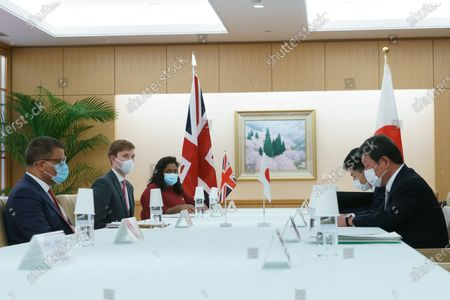 Editorial picture of COP 26 President Alok Sharma visit to Tokyo, Japan - 19 Apr 2021