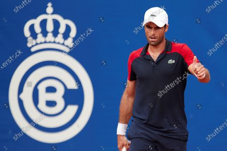 Editorial image of Conde Godo Tennis tournament in Barcelona, Spain - 19 Apr 2021
