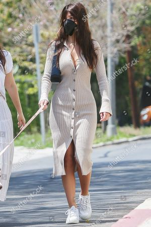 Editorial image of Camila Morrone out and about, Los Angeles, California, USA - 17 Apr 2021