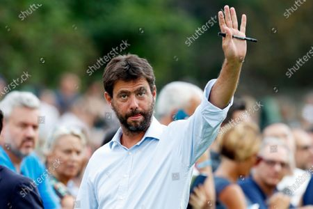 Juventus' president Andrea Agnelli arrives at Villar Perosa, northern Italy. If the stylish and swashbuckling soccer romantic Giovanni Agnelli represented the epitome of club presidents a few generations ago, his nephew Andrea Agnelli's affinity for the cut-throat business side of the sport falls more in line with the American and foreign owners who are gobbling up the European game