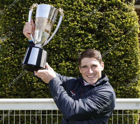Champion Jockey Harry SkeltonSandown 24.4.2021Pic Dan Abraham