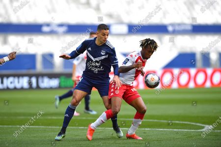 Hatem Ben Arfa Bordeaux and Gelson Bathala Martins AS Monaco