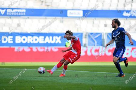 Shooting and goal of Gelson Bathala Martins AS Monaco