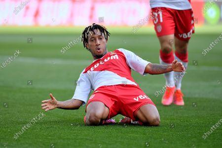 Celebration Gelson Bathala Martins AS Monaco after his goal