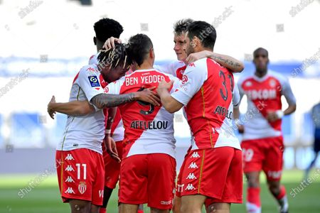 Gasques and Gelson Bathala Martins after his goal