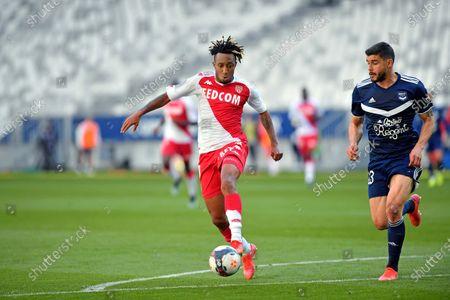 Gelson Bathala Martins AS Monaco and Loris Benito Bordeaux