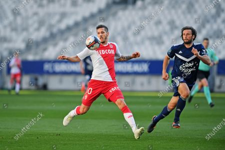 Editorial image of Bordeaux v Monaco, Ligue 1, Football, Matmut Atlantic Stadium, Bordeaux, France - 18 Apr 2021
