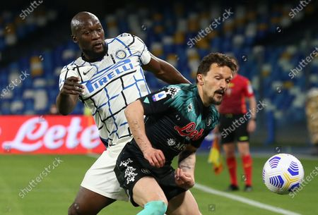 Editorial picture of SSC Napoli v Inter Milan, Italian Serie A football match, Stadio San Paolo, Naples, Italy - 18 Apr 2021
