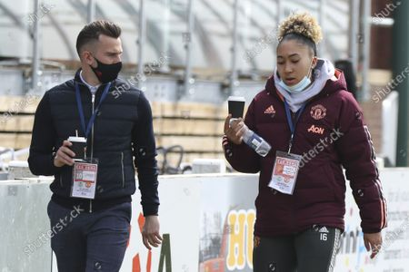 Lauren James (16 Manchester United) during the Womens FA Cup fourth round match between Burnley and Manchester United at the Lancashire FA Ground, United Kingdom