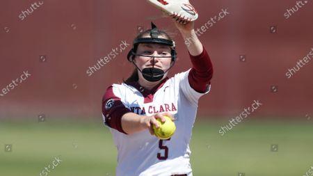 Editorial image of Softball, Santa Clara, United States - 17 Apr 2021