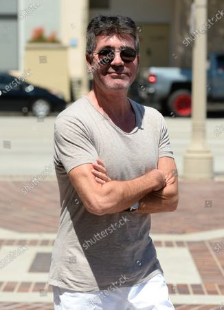 Simon Cowell out and about, Los Angeles