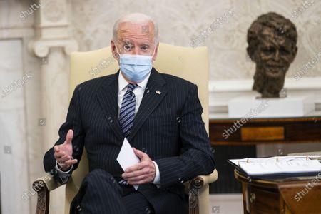 President Biden remarks on American Jobs Plan, Washington DC