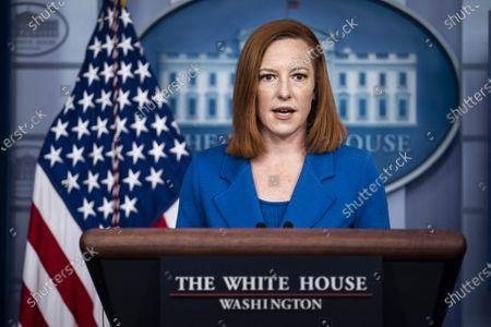 White House Briefing by Press Secretary Jen Psaki, Washington DC