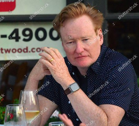 Exclusive - Conan O'Brien out and about, Los Angeles
