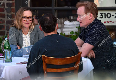 Editorial picture of Exclusive - Conan O'Brien out and about, Brentwood, Los Angeles, California, USA - 19 Apr 2021