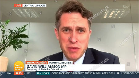 Stock Picture of Gavin Williamson