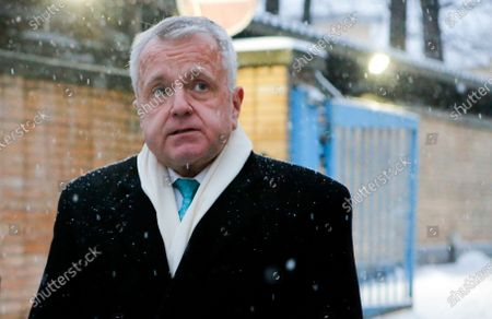 Taken, U.S. Ambassador to Russia John Sullivan speaks to the media after visiting Paul Whelan, a former U.S. marine who was arrested for alleged spying in Moscow, Russia. Sullivan said he was heading home for consultations and would return to Moscow in the nearest weeks
