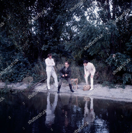 Thrown into a canal by the Seaton gang, Jeff Randall, as played by Mike Pratt, momentarily appears as a Ghost to Marty Hopkirk, as played by Kenneth Cope, as he frantically tries to attract the attention of Donald Seaton, as played by Gary Watson, to fish Jeff out of the water before he drowns.