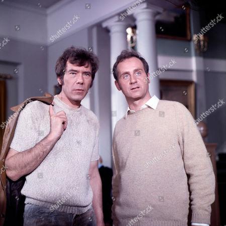 Jeff Randall, as played by Mike Pratt, and Donald Seaton, as played by Gary Watson
