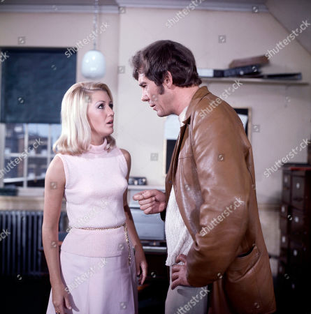 Jeannie Hopkirk, as played by Annette Andre, and Jeff Randall, as played by Mike Pratt