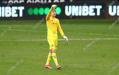 Stock Image of QPR Goalkeeper Joe Lumley