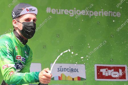 Simon Yates Team BikeExchange holds the tour lead; Imst, Austria; Cycling Tour des Alpes Stage 3, Imst in Austria to Naturns/Naturno, Italy.