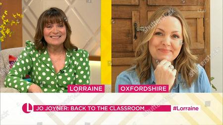 Editorial image of 'Lorraine' TV Show, London, UK - 20 Apr 2021