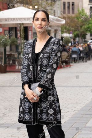 Eugenia Silva attends the premiere of Benjamin Britten's opera Peter Grimes at the Teatro Real in Madrid.