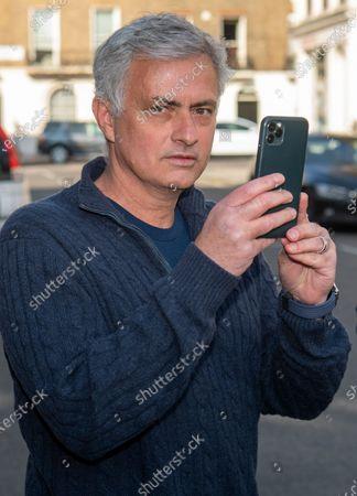 Jose Mourinho returns home, London