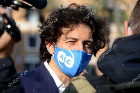Editorial photo of Luca Coscioni court case, Rome, Italy - 20 Apr 2021