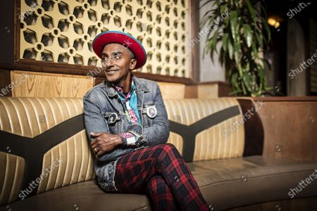 Chef Marcus Samuelsson photographed at his restaurant Red Rooster in Harlem, New York