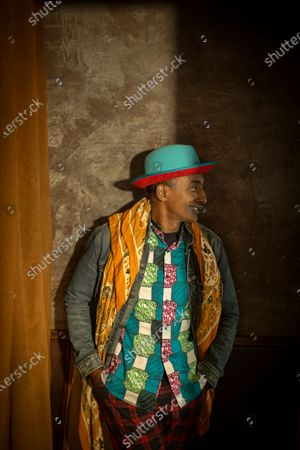 Stock Photo of Chef Marcus Samuelsson photographed at his restaurant Red Rooster in Harlem, New York