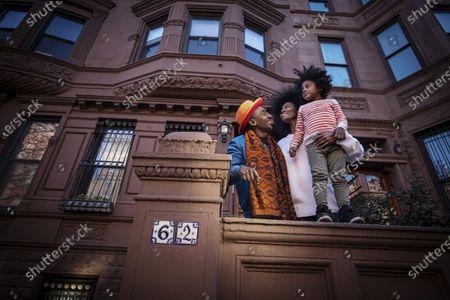 Editorial image of Chef Marcus Samuelsson photoshoot, Harlem, New York, USA - 08 Mar 2021
