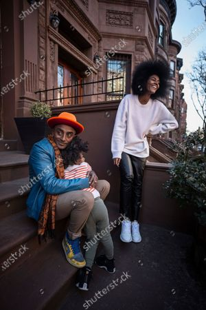 Editorial picture of Chef Marcus Samuelsson photoshoot, Harlem, New York, USA - 08 Mar 2021