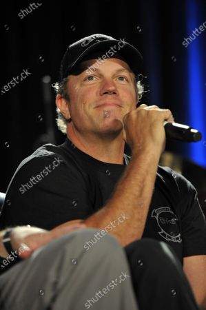 Adam Baldwin at the Wizard World Comic Con at the Donald E Stephens Convention Center in Rosemont, Illinois