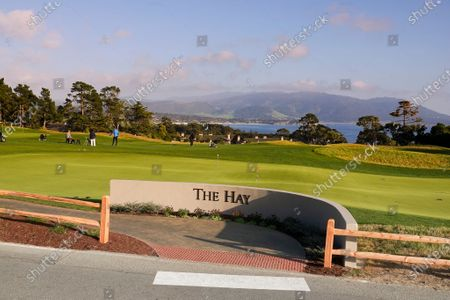 Landscapes of 'The Hay' Par Three course, redesigned by multi major winner Tiger Woods, on its inauguration opening day