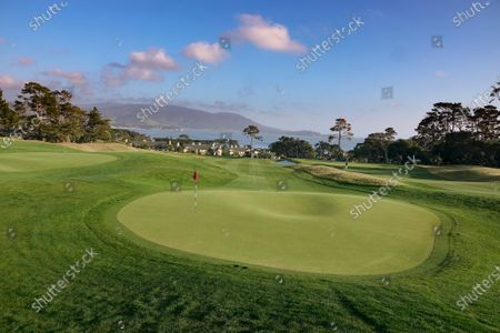 Stock Picture of Landscapes of 'The Hay' Par Three course, redesigned by multi major winner Tiger Woods, on its inauguration opening day
