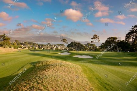 Editorial photo of 'The Hay' Par Three opening day, Pebble Beach, California, USA - 20 Apr 2021