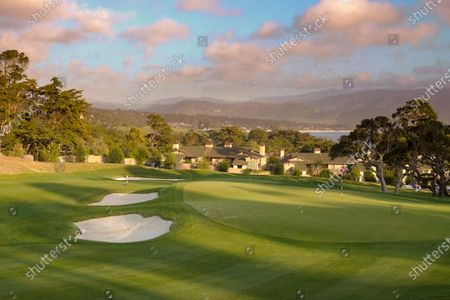 Editorial picture of 'The Hay' Par Three opening day, Pebble Beach, California, USA - 20 Apr 2021