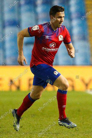 Blackburn Rovers midfielder Stewart Downing (6) during the EFL Sky Bet Championship match between Sheffield Wednesday and Blackburn Rovers at Hillsborough, Sheffield