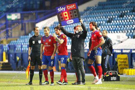 Editorial photo of Sheffield Wednesday v Blackburn Rovers, EFL Sky Bet Championship - 20 Apr 2021