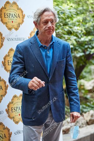 Josema Yuste attend the presentation of the bullfighting poster in a hand in hand between the bullfighters Enrique Ponce and Gonzalo Caballero at Terraza The Chapel.