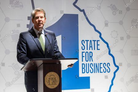 Brian Kemp 'Home Depot' press conference, Atlanta