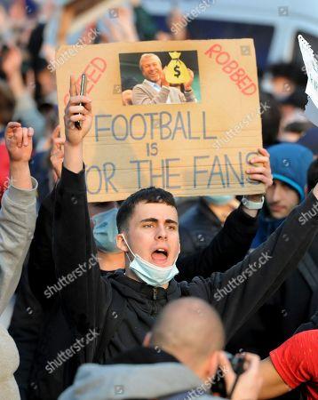 Editorial picture of Chelsea v Brighton & Hove Albion, Premier League, Football, Stamford Bridge, London, UK - 20 Apr 2021