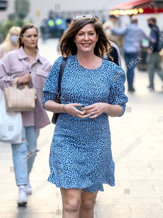 Editorial photo of Lucy Horobin out and about, London, UK - 20 Apr 2021