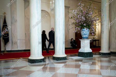 Editorial image of Biden delivers remarks following Derek Chauvin verdict, Washington, USA - 20 Apr 2021