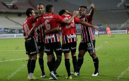 Editorial image of Brazil Soccer Copa Libertadores, Lima, Peru - 20 Apr 2021