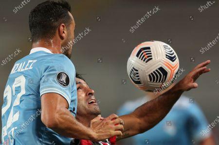Editorial picture of Brazil Soccer Copa Libertadores, Lima, Peru - 20 Apr 2021