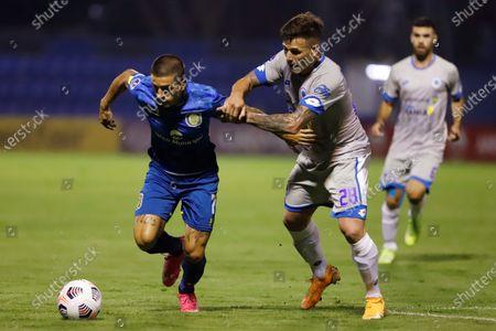 Editorial image of 12 de Octubre vs Rosario Central, Villa Elisa, Paraguay - 20 Apr 2021