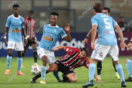 Editorial photo of Sporting Cristal vs. Sao Paulo, Lima, Peru - 20 Apr 2021